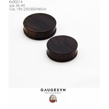 Streaky brown solid wood