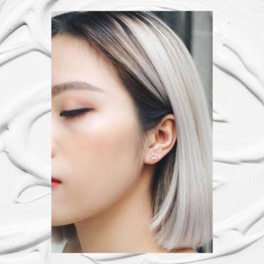 Star wings sliver earrings