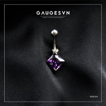 Square stone SWA purple navel curves