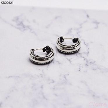 Silver mandala ring 3