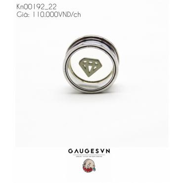 Stitching in diamond shape size 22