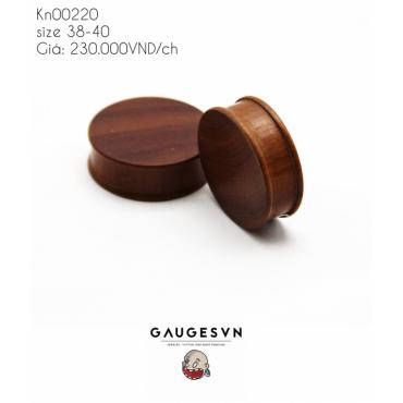 Streaky brown wood grain