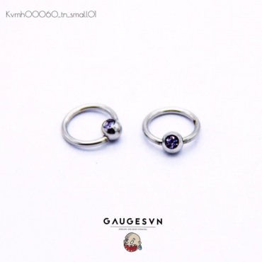 Recommend purple stones round 1 small 1mm
