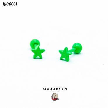 Mini green star