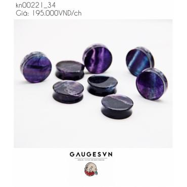 Hot stone pearl jewelery