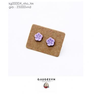 Small piercing purple