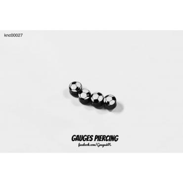 Piercing football magnet