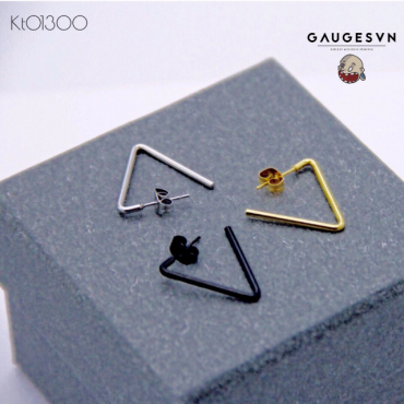 Recommend to the hollow gold triangle