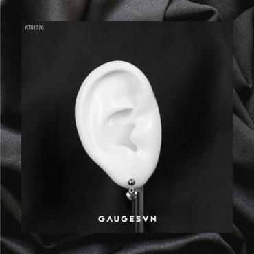fall heart earrings