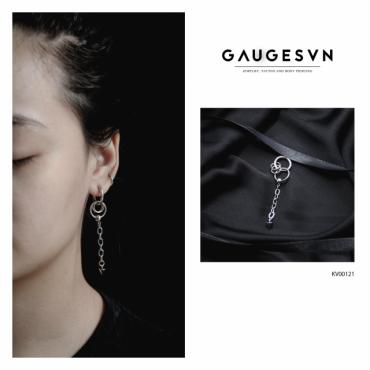 chain ear ring