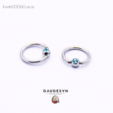 Piercing blue stones within 1 to