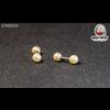 Piercing mini pearls straight